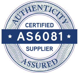 AS6081 Certified supplier
