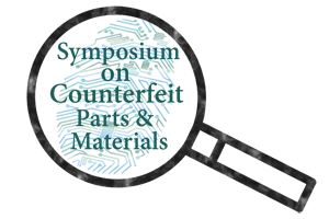 Symposium on Counterfeit Parts and Materials Logo